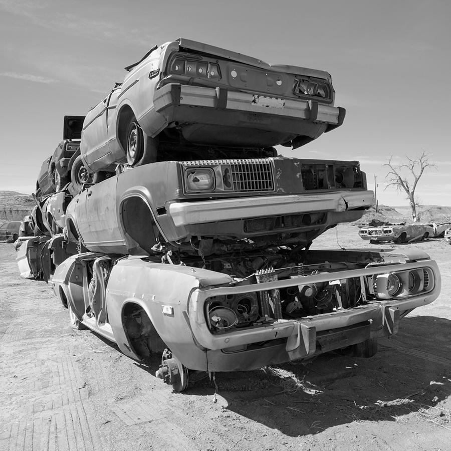 Para onde vai a lataria dos carros?