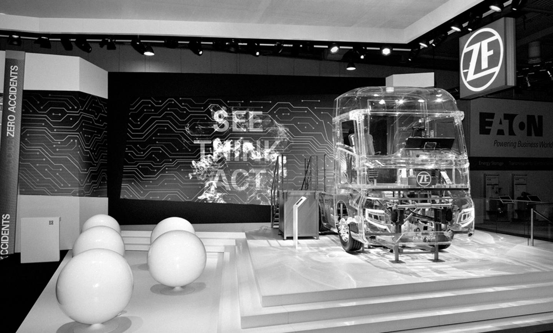 ZF apresenta nova tecnologia de compartilhamento em feira alemã