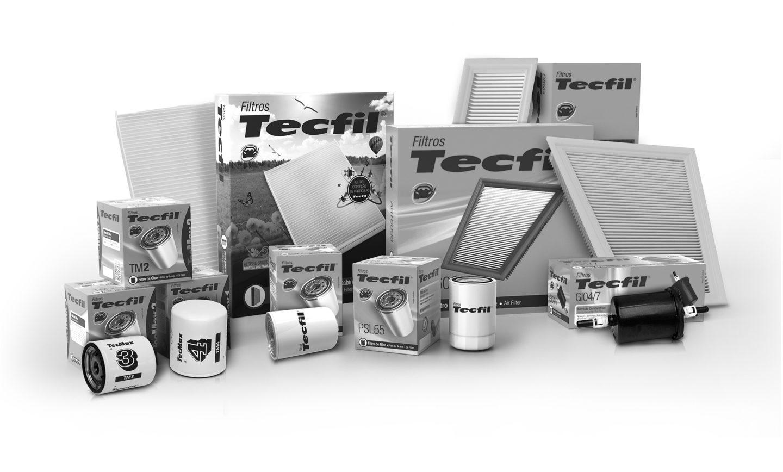 Novas embalagens TECFIL