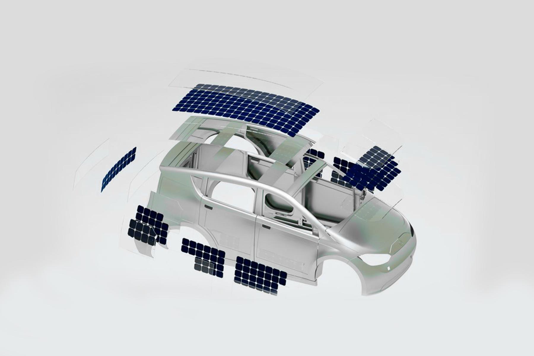Sion Sono Motors Montagem Ilustração