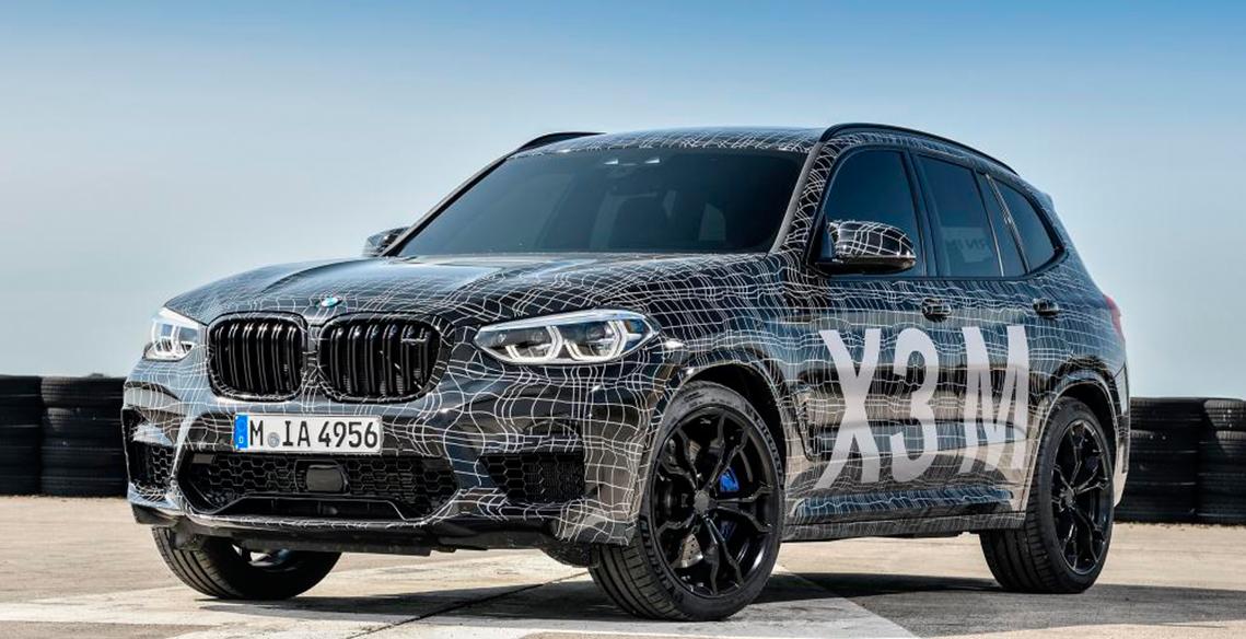 São revelados os primeiros detalhes do novo BMW X3 M