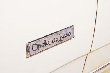 Opala de Luxo 1978 Placa