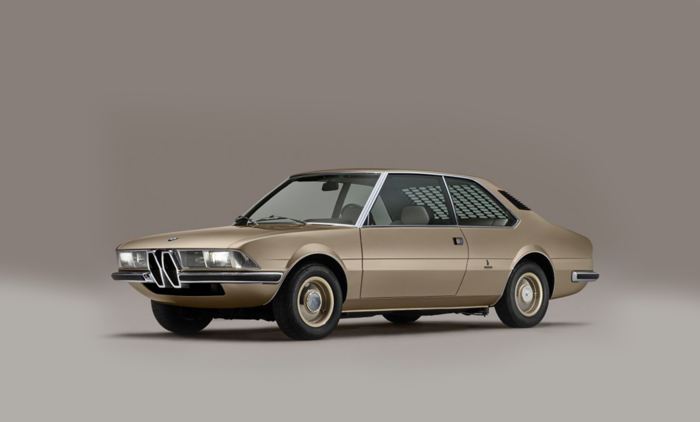 BMW recria carro conceito dos anos 70