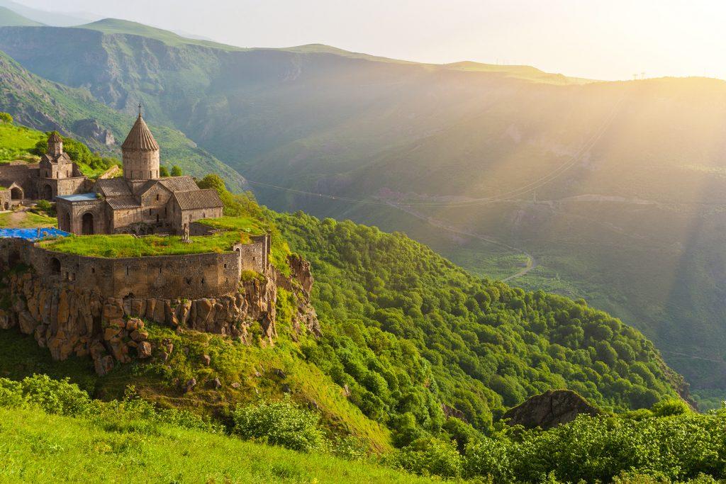 montanhas da armênia