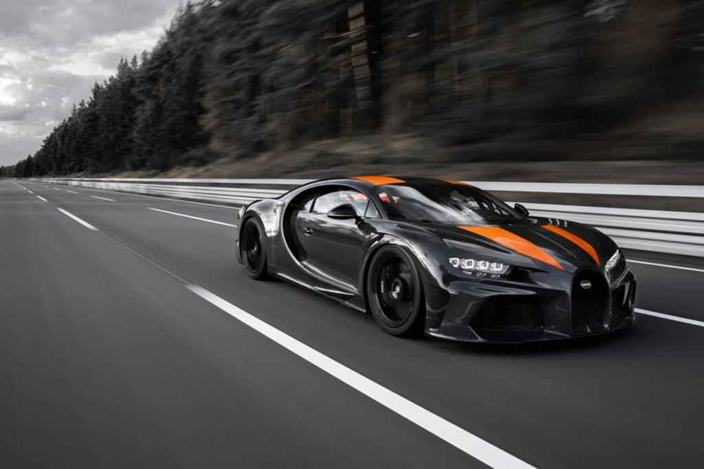 Bugatti Chiron o carro mais rápido do mundo