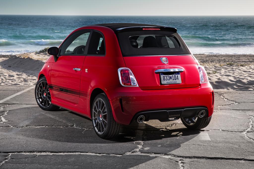 Fiat 500 Vermelho Praia